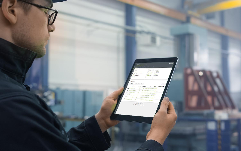 Digitales Werkatt-Management